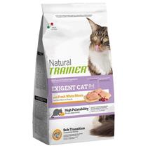 Trainer Natural Exigent Cat with Fresh White Meats / Сухой корм Трейнер для Привередливых кошек со Свежим Белым мясом