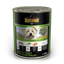 Belcando Meat with Vegetables / Консервы Белькандо для собак Мясо с овощами (цена за упаковку)