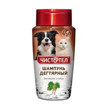 Чистотел / Шампунь для кошек и собак Дегтярный
