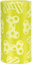 Trixie / Пакеты Трикси для уборки за собаками М Запах Лимона Желтые
