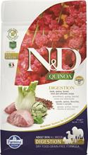 Farmina N&D Quinoa Line Digestion Lamb Grain free / Сухой Беззерновой корм Фармина для взрослых собак Поддержание Пищеварения Ягненок с Киноа