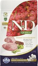 Farmina N&D Quinoa Line Weight Management Lamb Grain free / Сухой Беззерновой корм Фармина для взрослых собак Контроль Веса Ягненок с Киноа