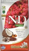 Farmina N&D Quinoa Line Skin & Coat Herring Grain free / Сухой Беззерновой корм Фармина для взрослых собак Здоровье Кожи и Шерсти Сельдь с Киноа