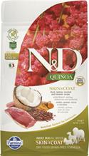 Farmina N&D Quinoa Line Skin & Coat Duck Grain free / Сухой Беззерновой корм Фармина для взрослых собак Здоровье Кожи и Шерсти Утка с Киноа