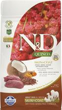 Farmina N&D Quinoa Line Skin & Coat Venison Grain free / Сухой Беззерновой корм Фармина для взрослых собак Здоровье Кожи и Шерсти Оленина с Киноа