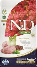 Farmina N&D Quinoa Line Digestion Adult Quinoa Lamb Grain free / Сухой Беззерновой корм Фармина для взрослых кошек с Чувствительным пищеварением Ягненок с Киноа