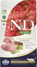 Farmina N&D Quinoa Line Weight Management Adult Quinoa Lamb Grain free / Сухой Беззерновой корм Фармина для взрослых кошек Контроль Веса Ягненок с Киноа