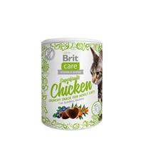 Brit Care Superfruits Chicken Snack / Беззерновое Лакомство Брит для кошек Курица Облепиха Черника