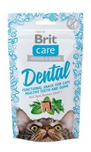 Brit Care Dental / Беззерновое Лакомство Брит для кошек для Зубов Индейка