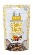 Заказать Brit Care Shiny Hair / Беззерновое Лакомство для кошек для Кожи и Шерсти Лосось по цене 110 руб