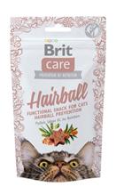 Brit Care Hairball / Беззерновое Лакомство для кошек Профилактика образования волосяных комочков
