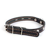 Заказать CoLLaR / Ошейник для собак Кожаный Двойной с украшением 32-40см х 20мм по цене 420 руб