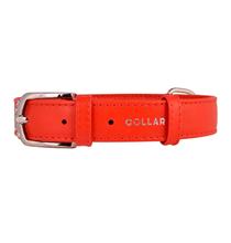 CoLLaR Glamour / Ошейник Колар для собак без украшений Красный