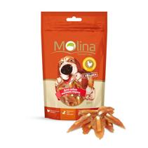 Molina / Лакомство Молина для собак Мелких пород Косточки с вяленой курицей