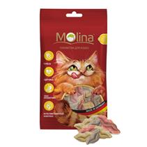 Заказать Molina Mix / Лакомство для кошек Лакомство Поцелуйчики по цене 80 руб