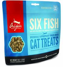 Заказать Orijen Six Fish / Сублимированное Лакомство Ориджен для кошек 6 Видов Рыбы по цене 358 руб