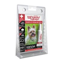 Заказать mr Bruno Extra / Капли Экстра От Клещей и Блох для собак весом 2-5 кг по цене 250 руб