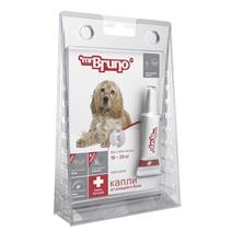 Заказать mr Bruno Plus / Капли Плюс От Клещей и Блох для собак весом 10-20 кг по цене 210 руб