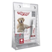 Заказать mr Bruno Plus / Капли Плюс От Клещей и Блох для собак весом 20-40 кг по цене 220 руб