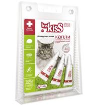 ms KisS / Капли Мисс Кисс для Крупных кошек Репеллентные 2,5 мл
