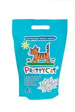 PrettyCat Aroma Fruit / Наполнитель для кошачьих туалетов ПриттиКэт Арома Фрут Впитывающий