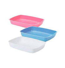 Savic Litter Tray 38 / Туалет-лоток Савик для кошек Пластиковый