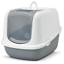 Savic Nestor Jumbo / Туалет Савик для кошек Закрытый с Дверцей 66,5 х 48,5 х 46,5см