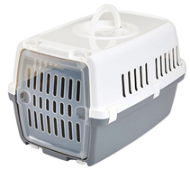 Savic Zephos 1 / Переноска Савик для животных с прозрачной пластиковой дверцей 48х31,5х30см