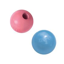 Kong Puppy Ball / Игрушка Конг для Щенков Мячик под лакомства Цвета: розовый, голубой (указывайте цвет в комментарии к заказу)