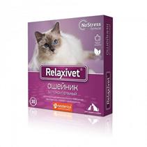 Relaxivet / Ошейник Успокоительный Релаксивет при Стрессах Страхах и Возбуждении у кошек и собак
