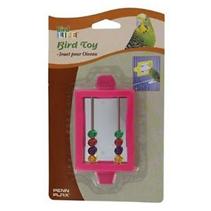 Penn Plax / Игрушка Пен Плакс для птиц Зеркало с бусинками