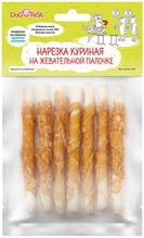 Заказать Dog Fest / Лакомство для собак Куриная нарезка на жевательной палочке по цене 110 руб