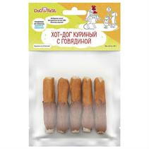 Заказать Dog Fest / Лакомство для собак Хот-дог куриный с говядиной по цене 110 руб