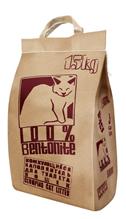 No Name 100% Bentonite / Наполнитель Ноу Нейм для кошачьего туалета Бентонитовый Комкующийся