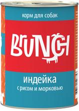 Заказать Brunch / Консервы для собак Индейка с рисом и морковью Цена за упаковку по цене 1070 руб