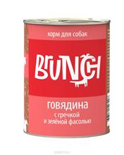 Заказать Brunch / Консервы для собак Говядина с гречкой и зеленой фасолью Цена за упаковку по цене 1070 руб