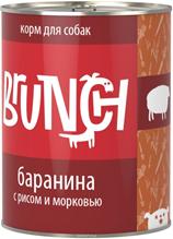 Заказать Brunch / Консервы для собак Баранина с рисом и морковью Цена за упаковку по цене 1070 руб