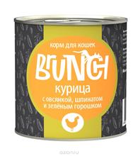 Заказать Brunch / Консервы для кошек Курица с овсянкой шпинатом и зеленым горошком Цена за упаковку по цене 830 руб