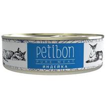 Заказать Petibon 100% Meat / Консервы Петибон для собак Индейка в желе Цена за упаковку по цене 1420 руб