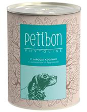 Заказать Petibon Phytoline / Консервы Петибон для собак с мясом Кролика Цена за упаковку по цене 1490 руб