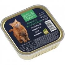 Заказать Petibon Smart / Консервы для кошек Паштет Курица & Телятина Цена за упаковку по цене 840 руб
