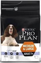 Purina Pro Plan Medium & Large Adult 7+ / Сухой корм Пурина Про План для взрослых собак Средних и крупных пород старше 7 лет Курица и рис