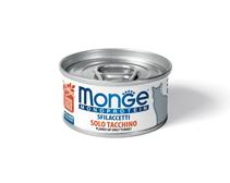 Monge Cat Monoprotein / Консервы Монж Монопротеиновые для кошек Хлопья Индейки (цена за упаковку)