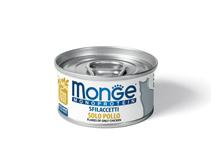Monge Cat Monoprotein / Консервы Монж Монопротеиновые для кошек Хлопья Курицы (цена за упаковку)