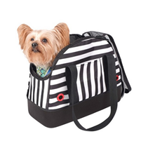 Заказать Ibiyaya / Сумка-переноска для собак до 6 кг Мягкая Черно-Белая полоска по цене 2600 руб