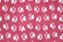 Заказать ProFleece Коврик для животных Меховой многофункциональный Бордовый / белый по цене 2600 руб