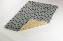 Заказать ProFleece Коврик для животных Меховой многофункциональный Угольный / желтый по цене 2600 руб