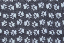 Заказать ProFleece Коврик для животных Меховой многофункциональный Угольный / голубой по цене 2600 руб