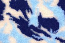 Заказать ProFleece Коврик для животных Меховой многофункциональный Камуфляж Синий / голубой/белый по цене 2770 руб