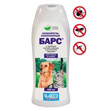 АгроВетЗащита Барс / Шампунь для собак и кошек Антипаразитарный с эфирными маслами и экстрактами лекарственных трав